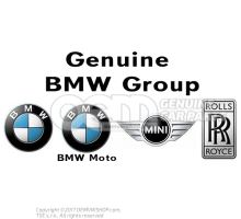 Plaque d'identification BMW 118d