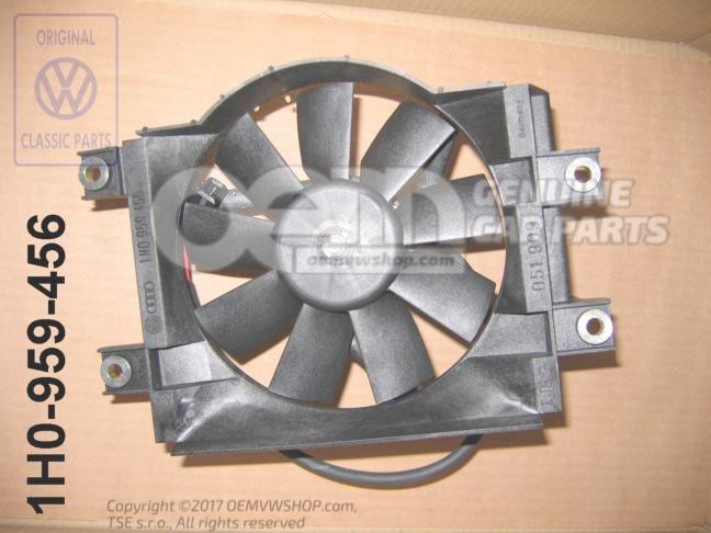 ventilateur du radiateur avec rotor de ventilateur. Black Bedroom Furniture Sets. Home Design Ideas