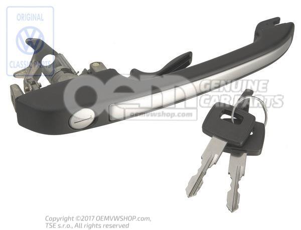 poignee de porte ext noire 863837205c. Black Bedroom Furniture Sets. Home Design Ideas
