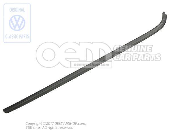 baguette d 39 encadrement noir satine 535853305 01c. Black Bedroom Furniture Sets. Home Design Ideas